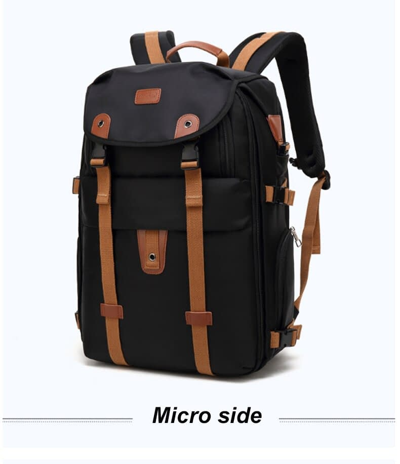 17 18 Inch Men Backpack Large Laptop Multi-layer Travel Bag Male Students School Backpacks Raincover Waterproof Rucksack XA25C