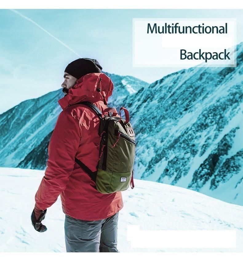 wanderer daypack multifunctional