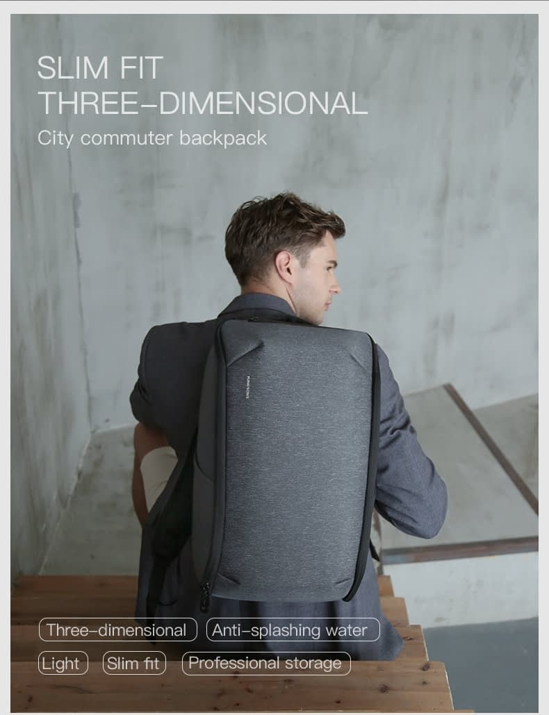 Kingsons Multifunction Men 15 inch Laptop Backpack