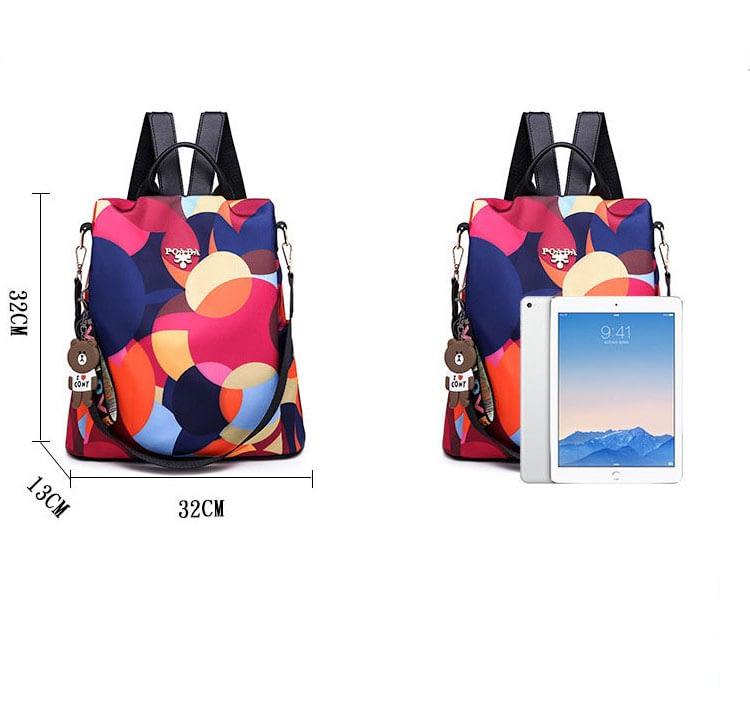 Vadim New Fashion Women Backpacks 2019 Waterproof Oxford Backpack Female Anti Theft Bagpacks School Bags for Girls Mochila Mujer