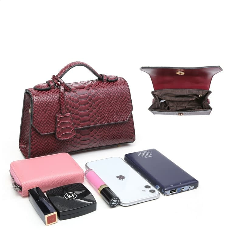 Fashion Blue Ostrich Python Clutch Ladies Bag Snake Pattern Leather Bags Women Hand Bag