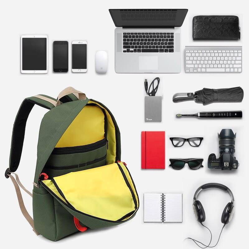 wanderer daypack storage space